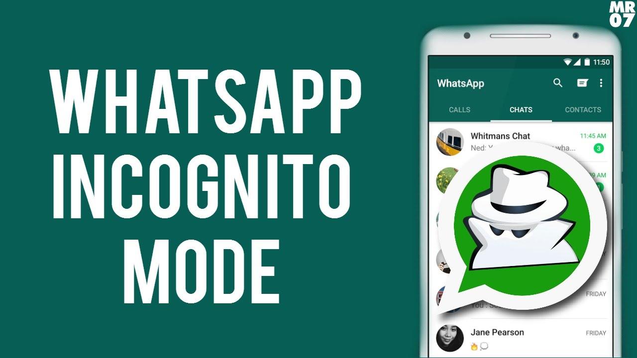 View WhatsApp status in incognito mode