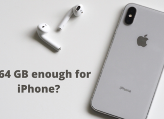 is 64 gb enough for iphone