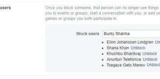 How to Block Someone on Facebook Who has Blocked You