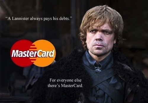 A lennister always pays his debts
