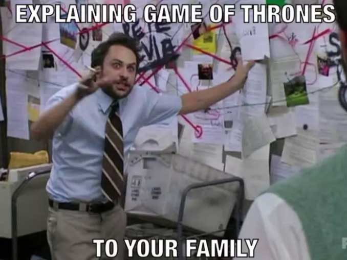 Explaining Game of Thrones