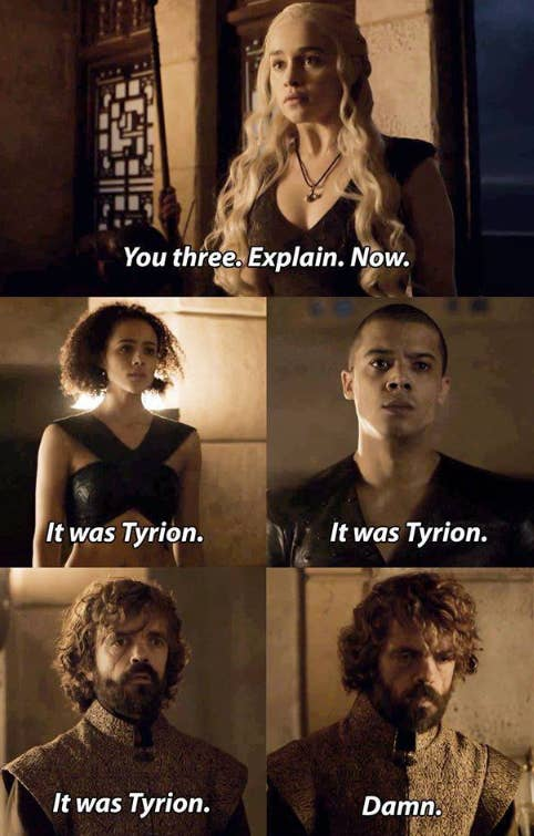 Who's Tyrion