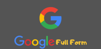 Google Full Form