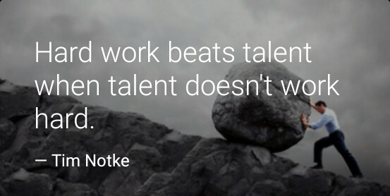 Quotes on talent