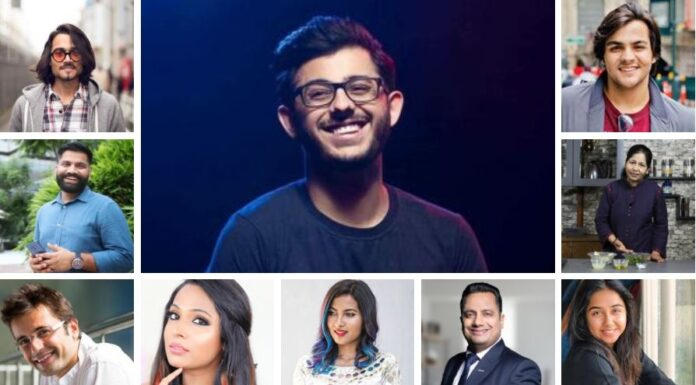 Top 10 Youtubers in India 2020