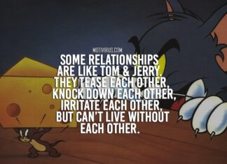Tom and Jerry Quotes