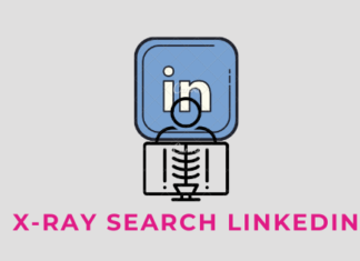 x ray search LinkedIn