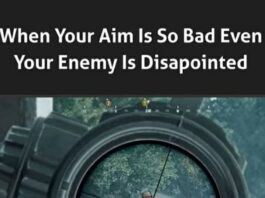 IN PUBG My Aim is so bad, even Some times the Enemies also get Frustrated😂.