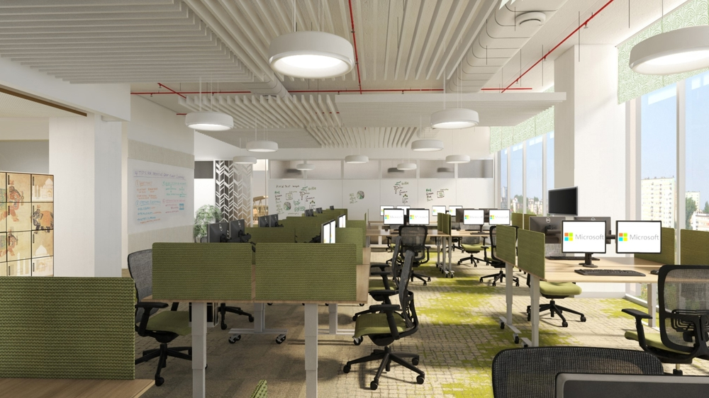Microsoft Launches its New Office in New Delhi Inspired by Taj Mahal 2